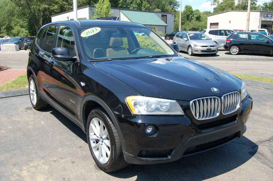 2014 BMW X3 AWD 4dr xDrive28i, available for sale in Old Saybrook, Connecticut | M&N`s Autohouse. Old Saybrook, Connecticut