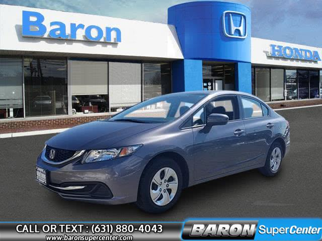 Used 2015 Honda Civic Sedan in Patchogue, New York | Baron Supercenter. Patchogue, New York