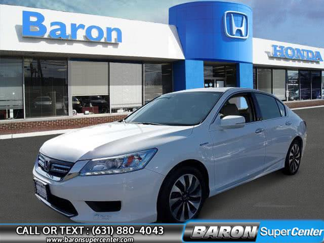 Used 2015 Honda Accord Hybrid in Patchogue, New York | Baron Supercenter. Patchogue, New York
