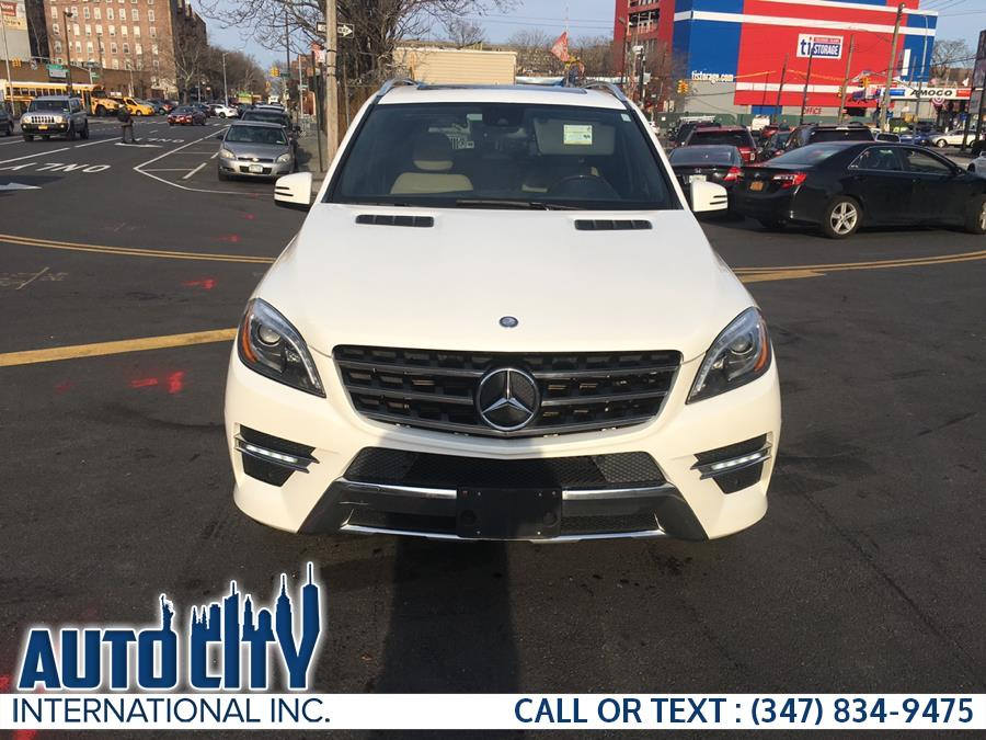 2015 Mercedes-Benz M-Class 4MATIC 4dr ML 400, available for sale in Brooklyn, New York | Auto City Int Inc. Brooklyn, New York