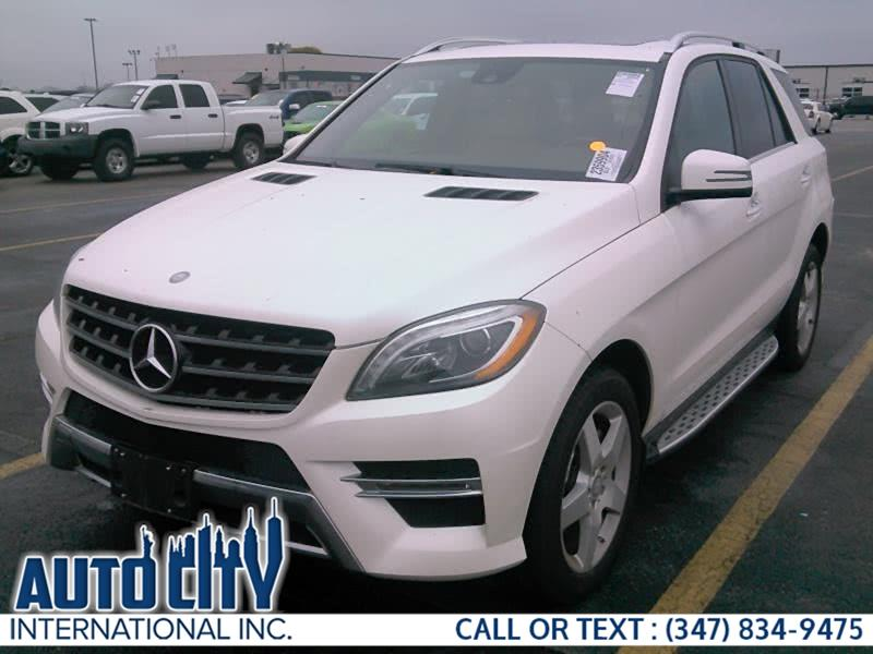 Used 2015 Mercedes-Benz M-Class in Brooklyn, New York | Auto City Int Inc. Brooklyn, New York
