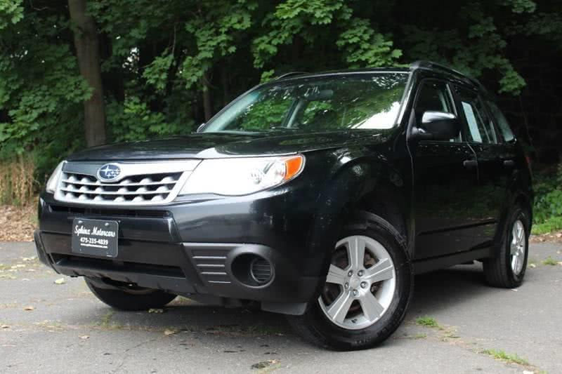 2012 Subaru Forester 2.5X AWD 4dr Wagon 5M, available for sale in Waterbury, Connecticut | Sphinx Motorcars. Waterbury, Connecticut