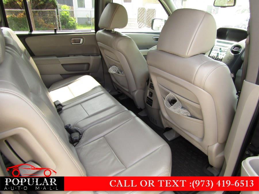 Used Honda Pilot 4WD 4dr Touring w/RES & Navi 2011 | Popular Auto Mall Inc . Newark , New Jersey