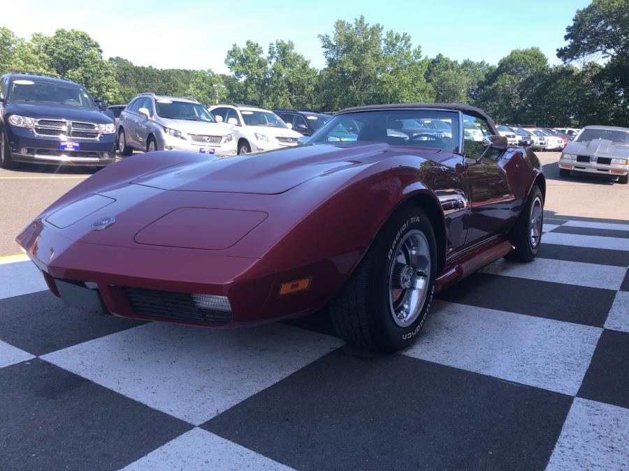 1974 Chevrolet Corvette Convertible, available for sale in Waterbury, Connecticut | National Auto Brokers, Inc.. Waterbury, Connecticut