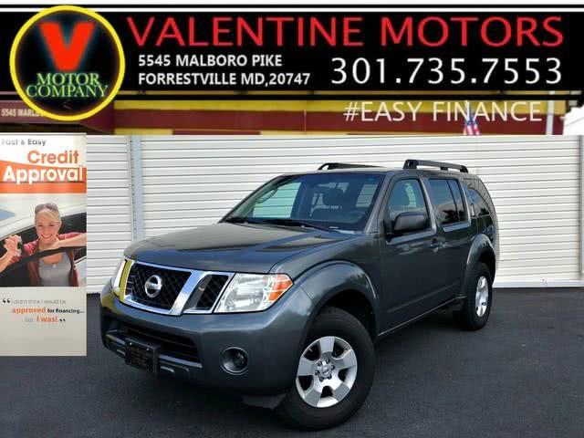 Used Nissan Pathfinder SE 2008 | Valentine Motor Company. Forestville, Maryland