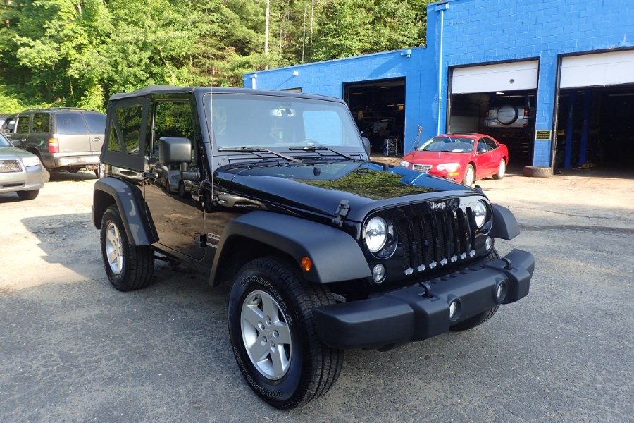 2015 Jeep Wrangler 4WD Sport  6 SP, available for sale in Storrs, Connecticut | Eagleville Motors. Storrs, Connecticut