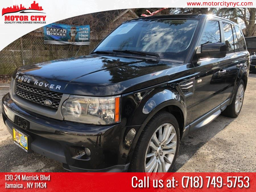 2011 Land Rover Range Rover Sport 4WD 4dr HSE LUX, available for sale in Jamaica, New York | Motor City. Jamaica, New York