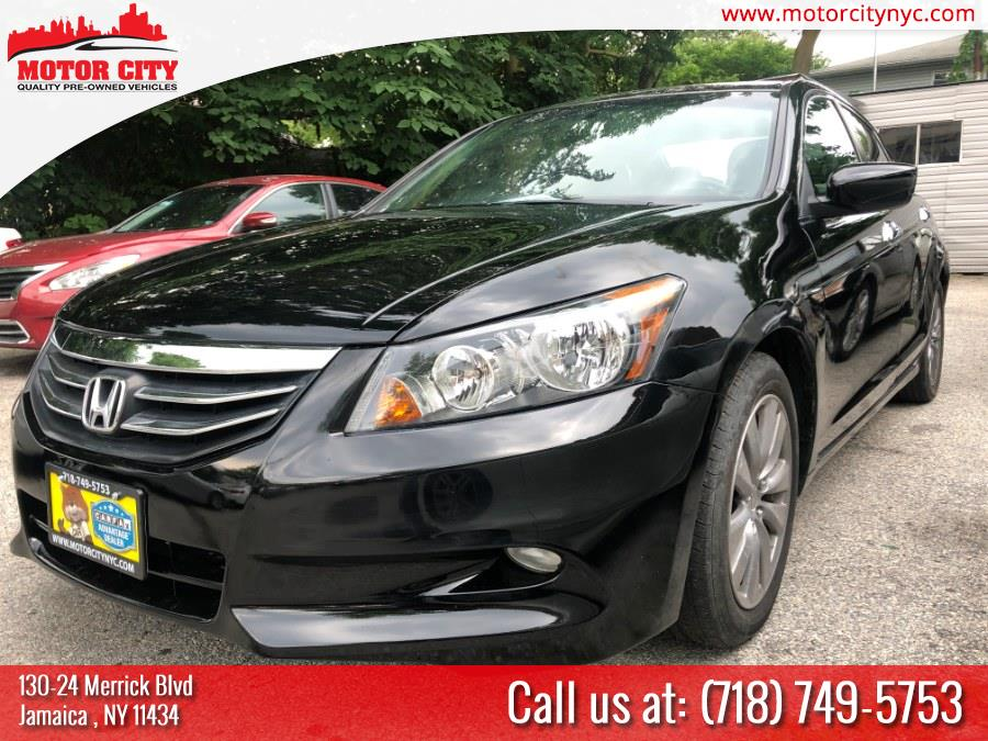 2012 Honda Accord Sdn 4dr V6 Auto EX-L w/Navi, available for sale in Jamaica, New York | Motor City. Jamaica, New York