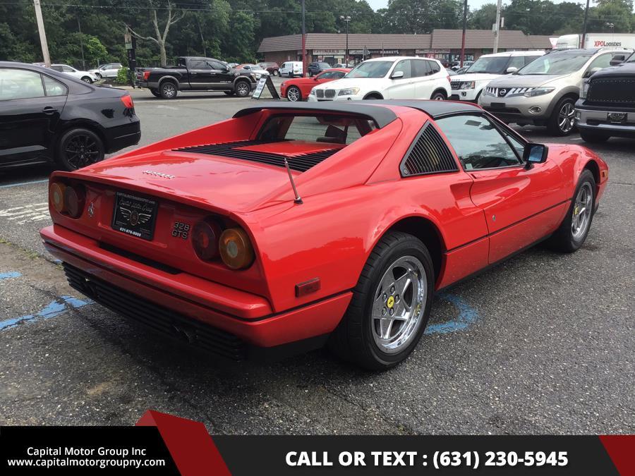 1986 Ferrari 328 Gts, available for sale in Medford, New York | Capital Motor Group Inc. Medford, New York