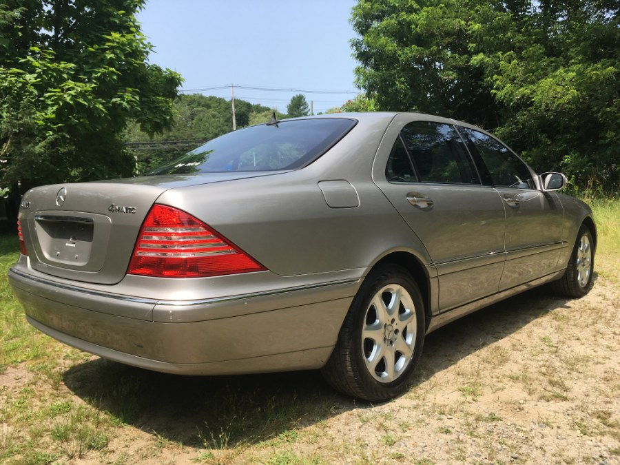 2004 Mercedes-Benz S-Class 4dr Sdn 5.0L 4MATIC, available for sale in Norwich, Connecticut   Elite Auto Brokers LLC. Norwich, Connecticut