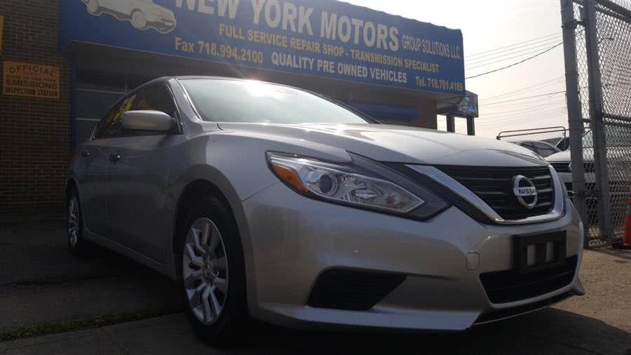 2016 Nissan Altima 4dr Sdn I4 2.5 S, available for sale in Bronx, New York   New York Motors Group Solutions LLC. Bronx, New York
