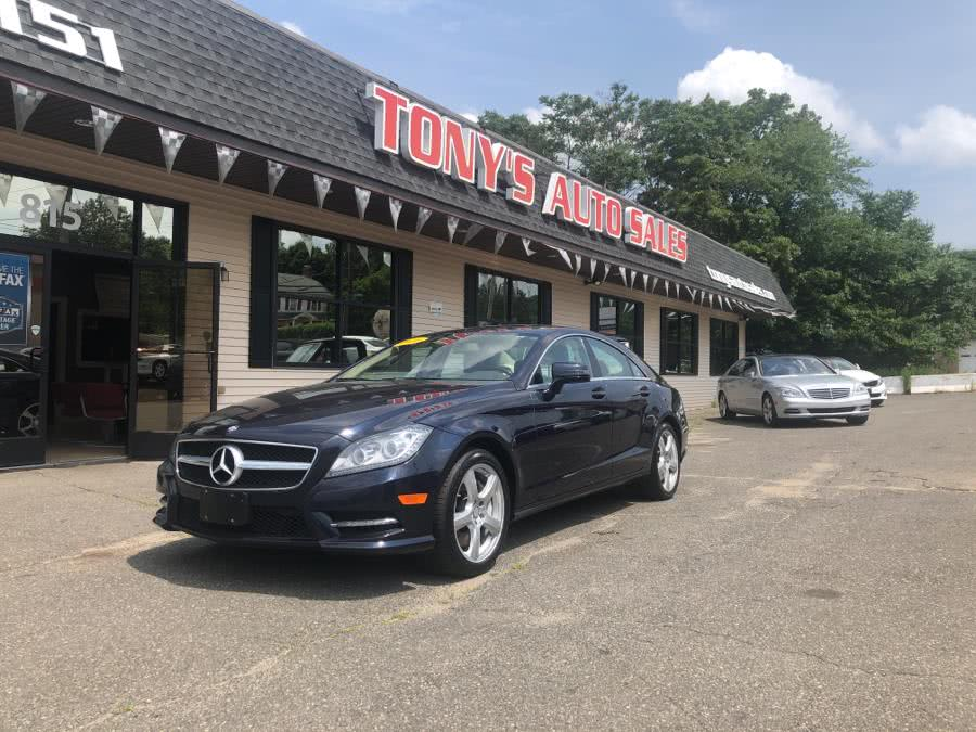 Used 2013 Mercedes-Benz CLS-Class in Waterbury, Connecticut | Tony's Auto Sales. Waterbury, Connecticut