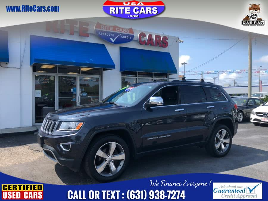 2015 Jeep Grand Cherokee 4WD 4dr Limited w/ NAVI, available for sale in Lindenhurst, New York | Rite Cars, Inc. Lindenhurst, New York