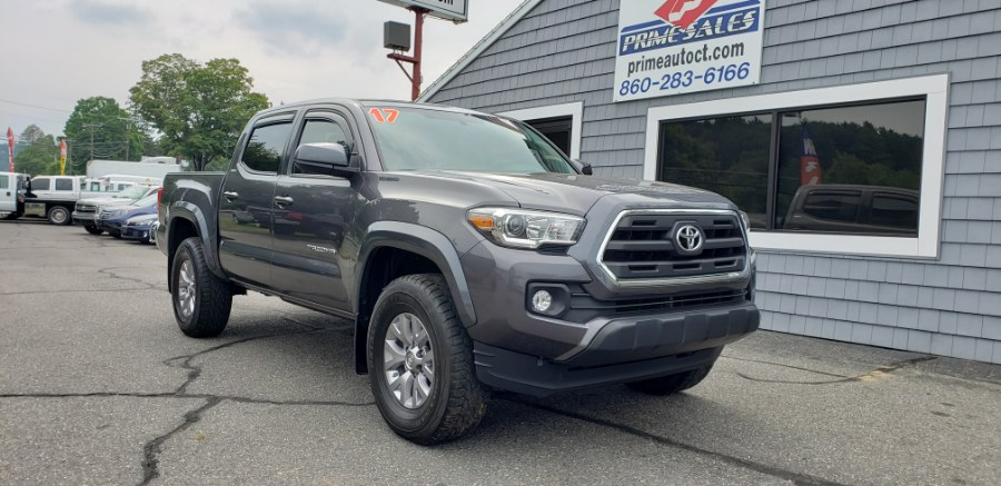 2017 Toyota Tacoma TRD Off Road Double Cab 5'' Bed V6 4x4 AT (Natl), available for sale in Thomaston, CT