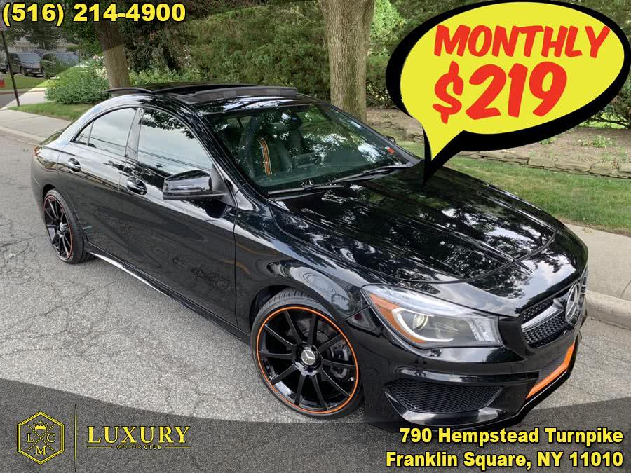 Used Mercedes-Benz CLA-Class 4dr Sdn CLA 250 4MATIC 2016 | Luxury Motor Club. Franklin Square, New York