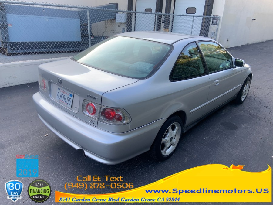 2000 Honda Civic 2dr Cpe EX Auto, available for sale in Garden Grove, California | Speedline Motors. Garden Grove, California