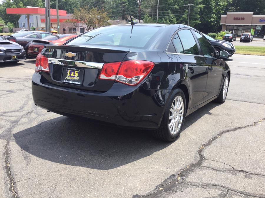 2012 Chevrolet Cruze 4dr Sdn ECO, available for sale in Plantsville, Connecticut | L&S Automotive LLC. Plantsville, Connecticut
