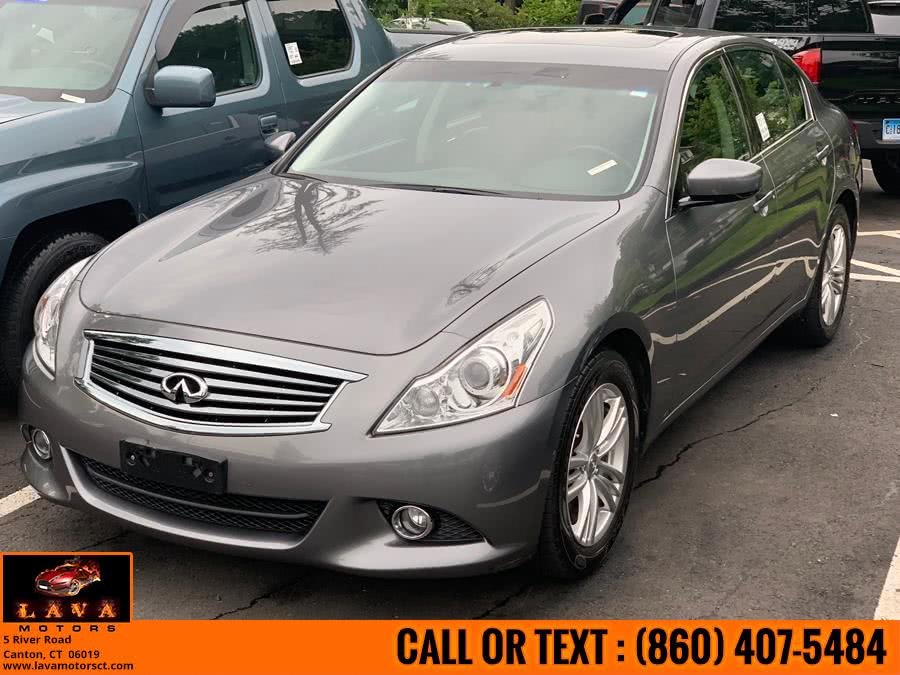 Used 2012 Infiniti G37 Sedan in Canton, Connecticut | Lava Motors. Canton, Connecticut