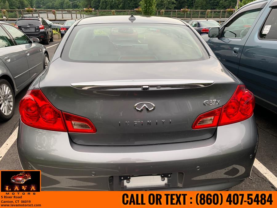 2012 Infiniti G37 Sedan 4dr x AWD, available for sale in Canton, Connecticut | Lava Motors. Canton, Connecticut