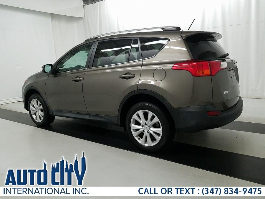 2015 Toyota RAV4 AWD 4dr Limited (Natl), available for sale in Brooklyn, New York | Auto City Int Inc. Brooklyn, New York
