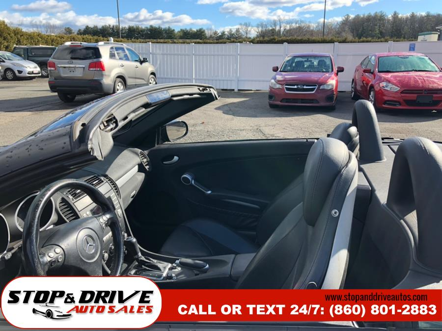 2006 Mercedes-Benz SLK-Class Roadster 3.5L, available for sale in East Windsor, Connecticut | Stop & Drive Auto Sales. East Windsor, Connecticut