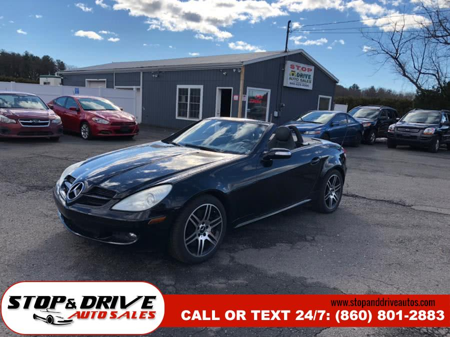 Used Mercedes-Benz SLK-Class Roadster 3.5L 2006 | Stop & Drive Auto Sales. East Windsor, Connecticut