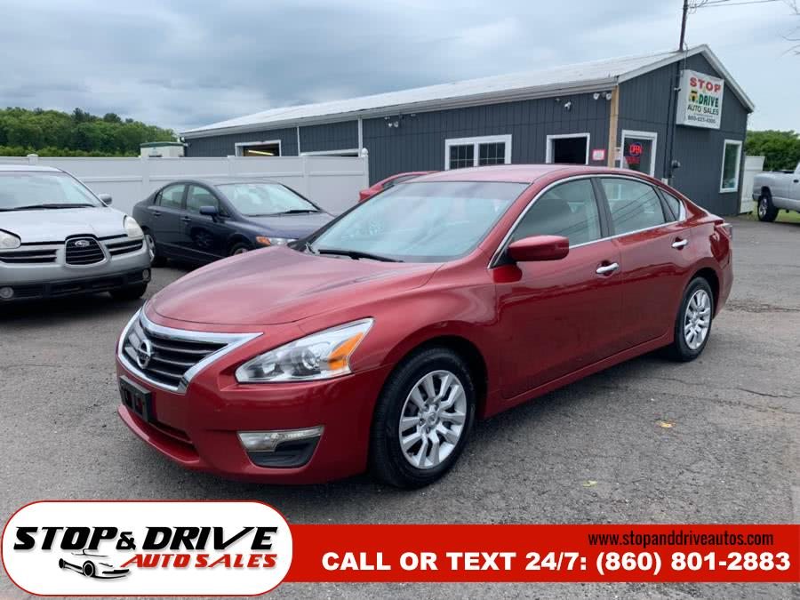 2013 Nissan Altima 4dr Sdn I4 2.5 S, available for sale in East Windsor, CT