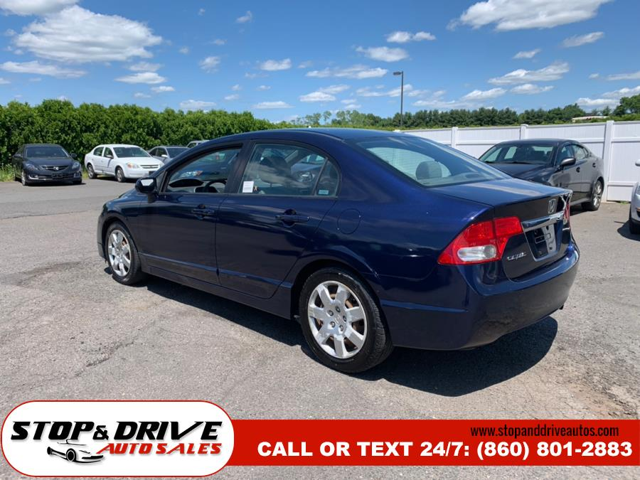 2009 Honda Civic Sdn 4dr Auto LX, available for sale in East Windsor, Connecticut | Stop & Drive Auto Sales. East Windsor, Connecticut