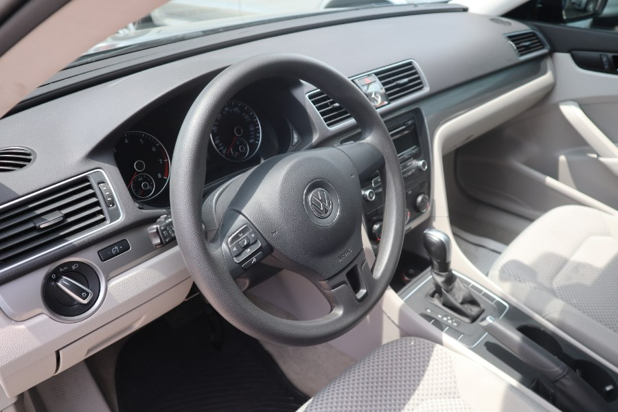 2015 Volkswagen Passat 4dr Sdn 1.8T Auto S PZEV, available for sale in Jamaica, New York | Hillside Auto Mall Inc.. Jamaica, New York