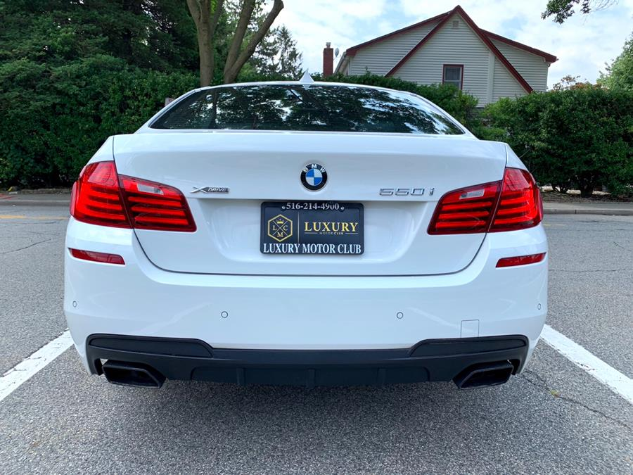 Used BMW 5 Series 4dr Sdn 550i xDrive AWD 2016 | Luxury Motor Club. Franklin Square, New York