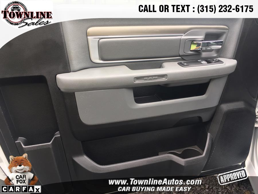 2017 Ram 1500 SLT 4x4 Regular Cab 8'' Box, available for sale in Wolcott, New York | Townline Sales LLC. Wolcott, New York