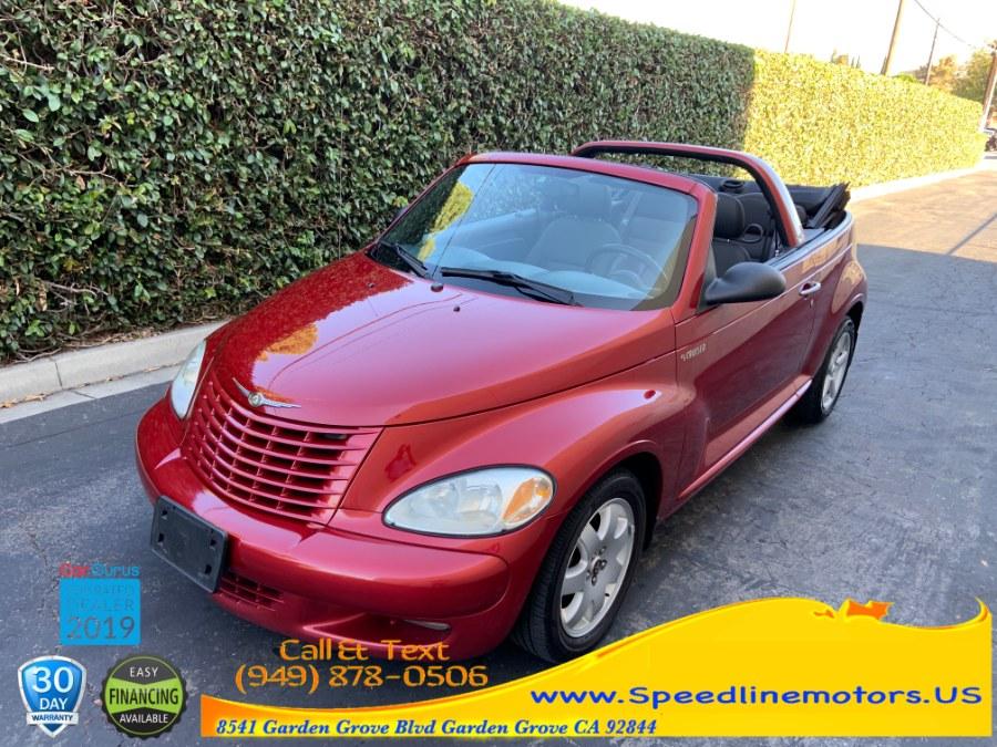2005 Chrysler PT Cruiser 2dr Convertible Touring, available for sale in Garden Grove, California | Speedline Motors. Garden Grove, California