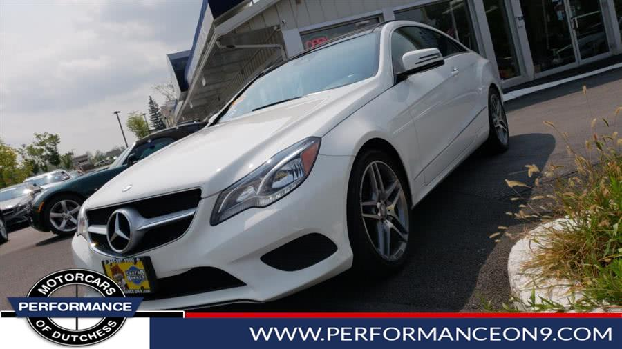 Used Mercedes-Benz E-Class Design Diamond 2dr Cpe E 400 4MATIC 2015 | Performance Motorcars Inc. Wappingers Falls, New York