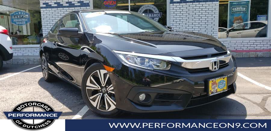 Used 2016 Honda Civic Coupe in Wappingers Falls, New York | Performance Motorcars Inc. Wappingers Falls, New York