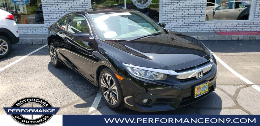Used Honda Civic Coupe 2dr CVT EX-L 2016 | Performance Motorcars Inc. Wappingers Falls, New York