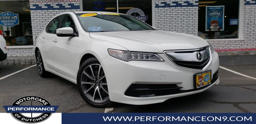 Used 2016 Acura TLX in Wappingers Falls, New York | Performance Motorcars Inc. Wappingers Falls, New York