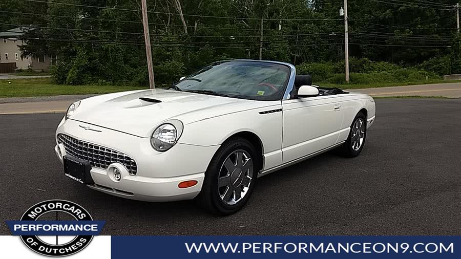 Used Ford Thunderbird 2dr Convertible Premium 2002 | Performance Motorcars Inc. Wappingers Falls, New York