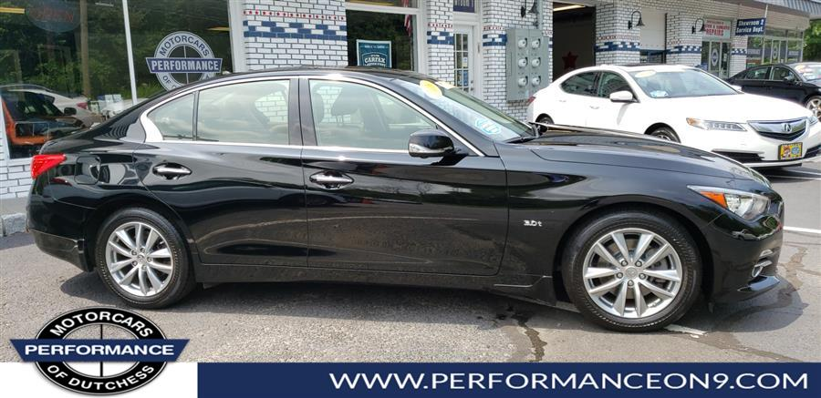 2016 Infiniti Q50 4dr Sdn 3.0t Premium AWD, available for sale in Wappingers Falls, New York | Performance Motorcars Inc. Wappingers Falls, New York