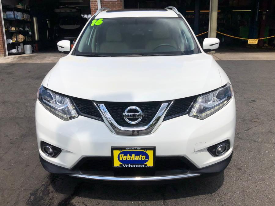 2016 Nissan Rogue AWD 4dr SL, available for sale in Hartford, Connecticut | VEB Auto Sales. Hartford, Connecticut