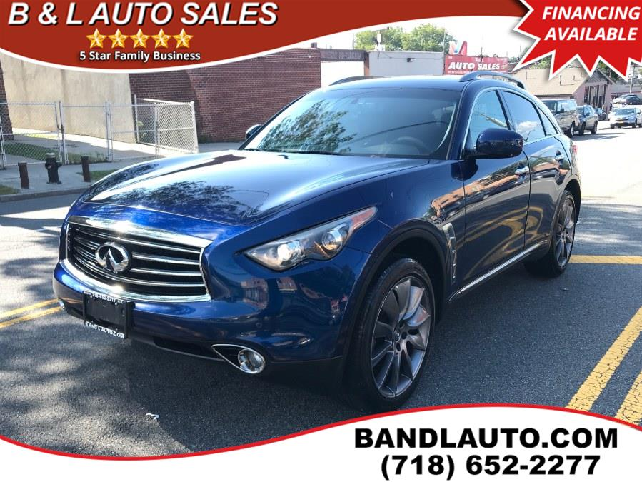 2012 Infiniti FX35 Limited Edition AWD 4dr, available for sale in Bronx, New York | B & L Auto Sales LLC. Bronx, New York