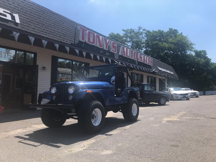 Used 1979 Jeep American in Waterbury, Connecticut | Tony's Auto Sales. Waterbury, Connecticut