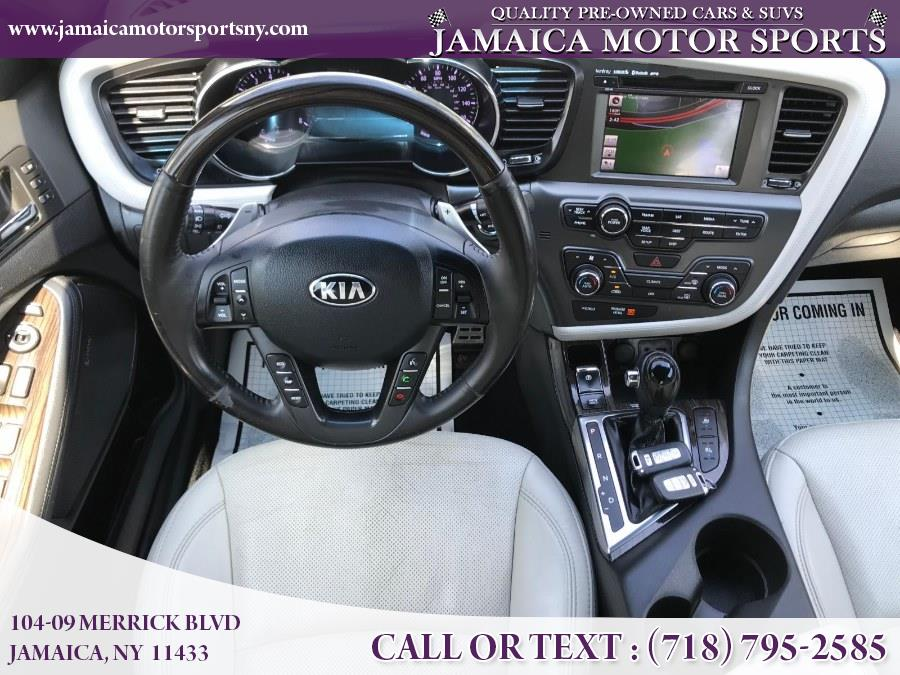 2013 Kia Optima 4dr Sdn SX w/Chrome Limited Pkg, available for sale in Jamaica, New York | Jamaica Motor Sports . Jamaica, New York