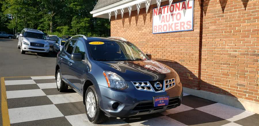 Used 2015 Nissan Rogue Select in Waterbury, Connecticut | National Auto Brokers, Inc.. Waterbury, Connecticut