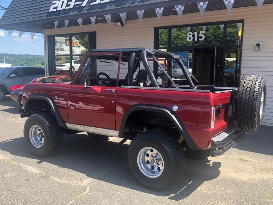 1969 Ford Bronco custom, available for sale in Waterbury, Connecticut   Tony's Auto Sales. Waterbury, Connecticut