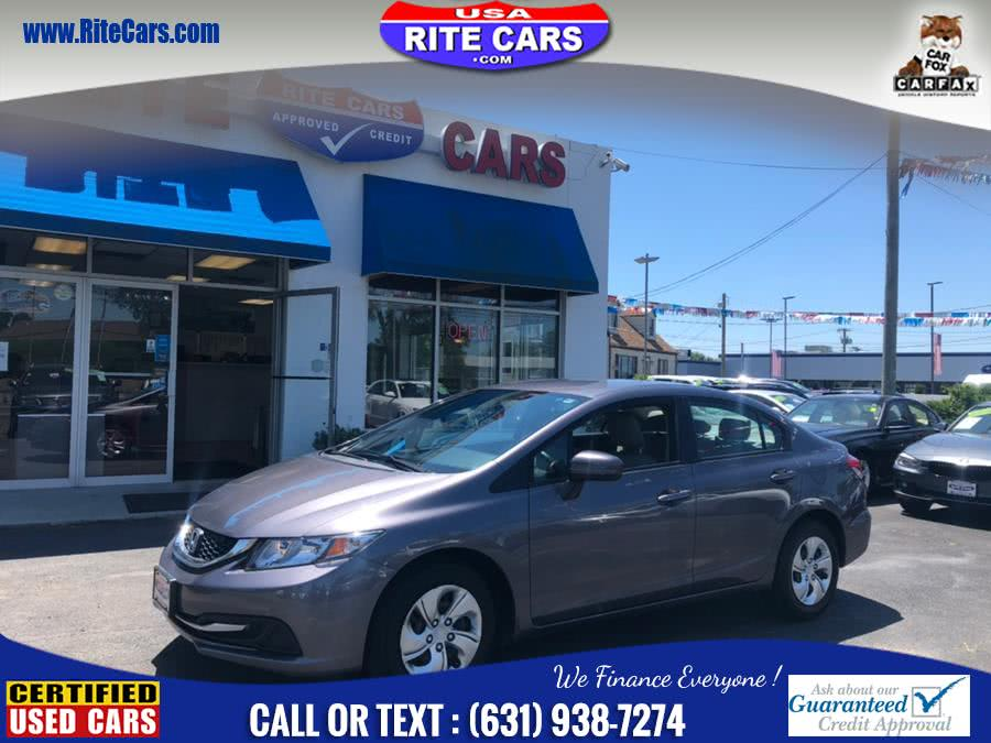 Used 2015 Honda Civic Sedan in Lindenhurst, New York | Rite Cars, Inc. Lindenhurst, New York