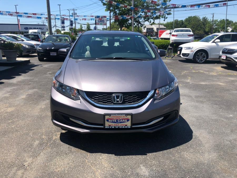 Used Honda Civic Sedan 4dr CVT LX 2015 | Rite Cars, Inc. Lindenhurst, New York