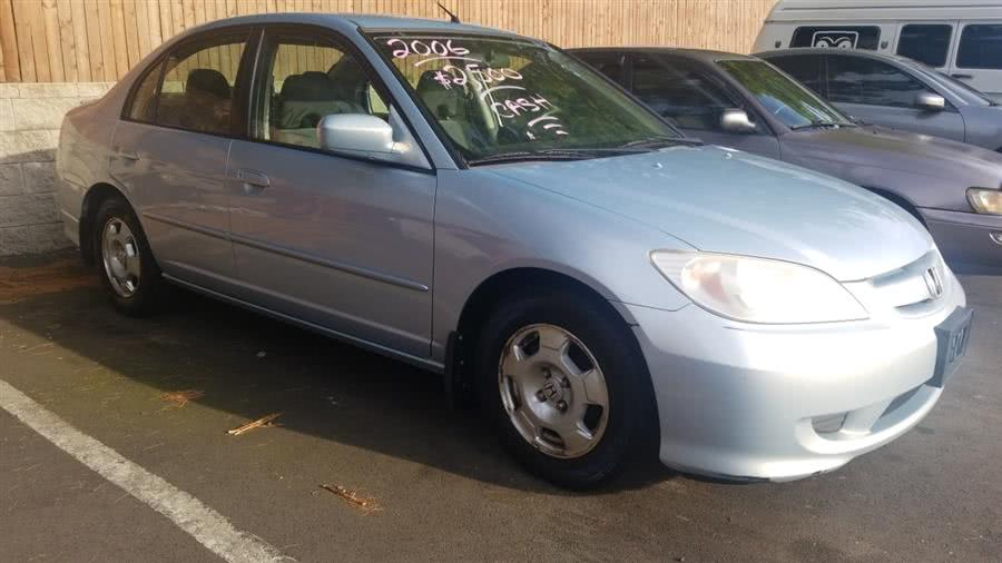 Used Honda Civic Hybrid Sedan 2005 | State Line Auto LLC. Wethersfield, Connecticut