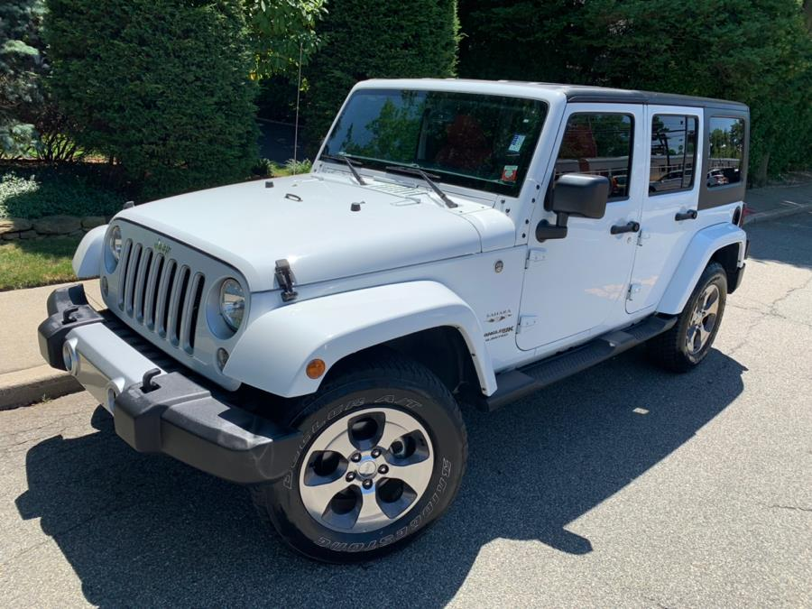 2018 Jeep Wrangler Unlimited Sahara 4x4, available for sale in Franklin Square, New York | Luxury Motor Club. Franklin Square, New York
