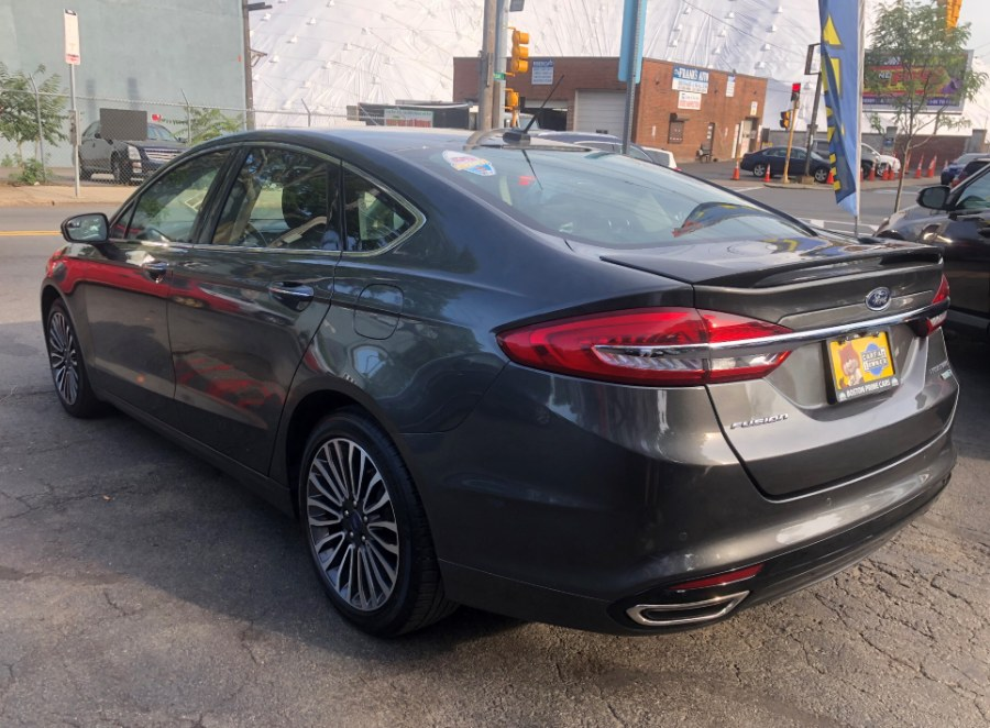 2018 Ford Fusion TITANIUM AWD Ecoboost, available for sale in Chelsea, Massachusetts | Boston Prime Cars Inc. Chelsea, Massachusetts