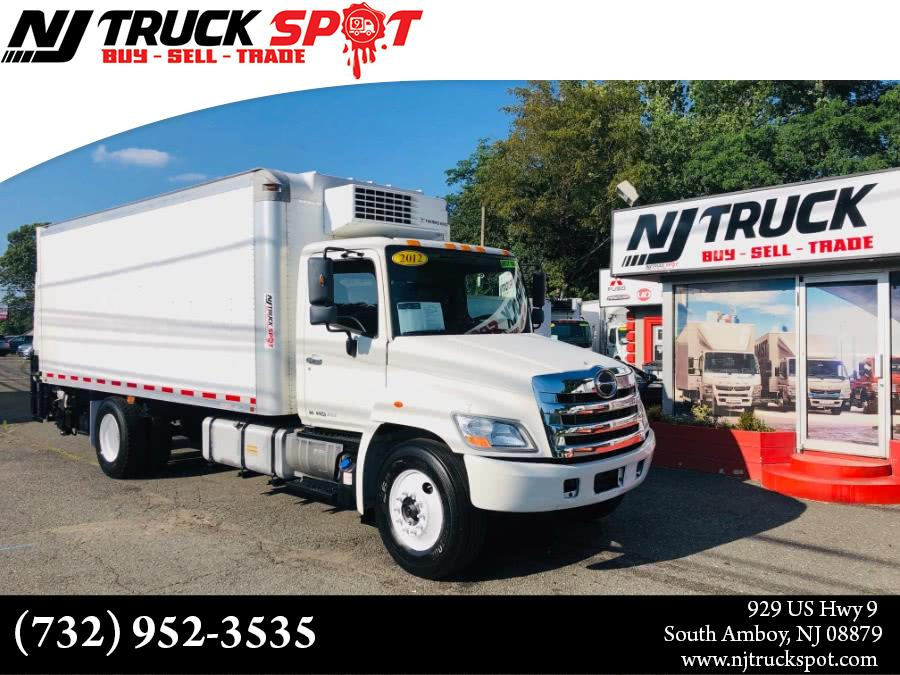 Used HINO 268 20 FEET THERMO KING REFRIGERATED BOX + LIFT GATE 2012 | NJ Truck Spot. South Amboy, New Jersey